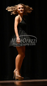 10/21/2017 Mike Orazzi | Staff Miss Forestville 2018 Contestant Micayla Barrows during the Miss Bristol/Forestville Pageant held at the Chippens Hill Middle School Saturday night.