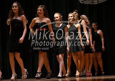 10/21/2017 Mike Orazzi | Staff Contestants during the Miss Bristol/Forestville 2018 Pageant held at the Chippens Hill Middle School Saturday night.