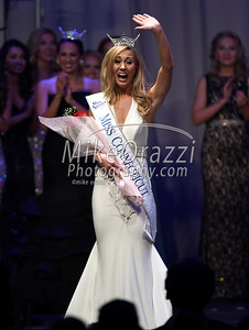 6/24/2017 Mike Orazzi  Eliza Kanner after being named Miss Connecticut 2017 at the Connecticut Convention Center in Hartford Saturday night.