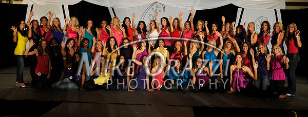 12/4/2010 Mike Orazzi | Staff Contestants during the Miss Connecticut USA  and Miss Connecticut Teen USA pageant held at the Hartford Marriott Farmington Hotel in Farmington on Saturday, December 4, 2010.