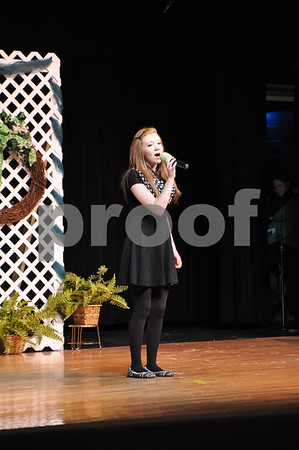 Katlyn Moore talent, vocal solo