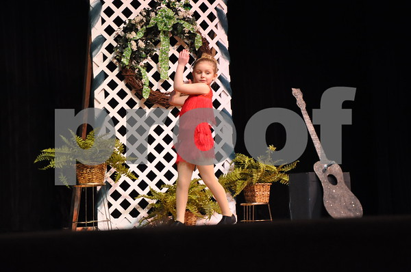 "Ava Burndorf, 2013 Little Miss Shamrock, does ""Jailhouse Rock"""