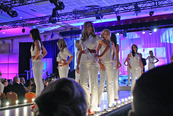 Miss Texas USA 2011 Contestants in White
