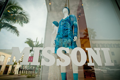 Missoni Beverly Hills in store event with Rosita Missoni October 24th 2011