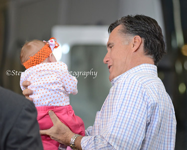 Mitt Romney & Baby