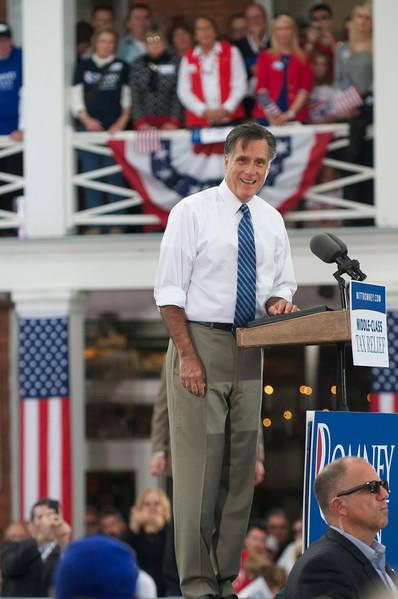 Mitt Romney Visits Lebanon Ohio