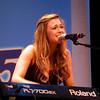 Singer Rachel Platten performs.