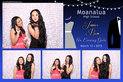 Moanalua High School Junior Prom 2015