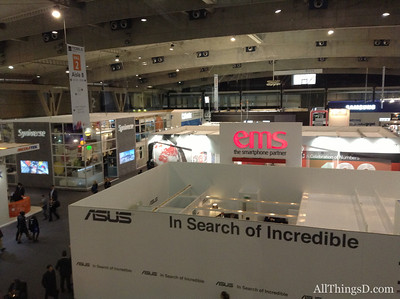 Hall 2 was home to various meeting rooms where, away from public view, new products get shown and deals get made.
