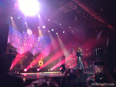 And what would a trade show be without some good parties. One of the highlights was Google's party at a Barcelona nightclub featuring Florence and the Machine.