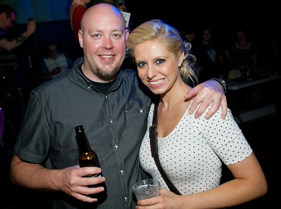 Craig Herget and Sarah Simpson of Cincinnati at Mixx Ultralounge for the 2013 Queen City Mods Vs. Rockers Rally