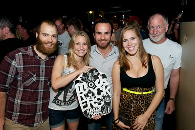 Jon, Kristyn, Andy, Ariana and Steve of Cincinnati at Mixx Ultralounge for the 2013 Queen City Mods Vs. Rockers Rally
