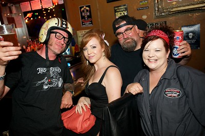 Skinny Ricky, Sarah, Steve and Kat From NKY and Cin at The Drinkery for the 2013 Queen City Mods Vs. Rockers Rally