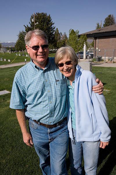 Lucky Scott and Karen