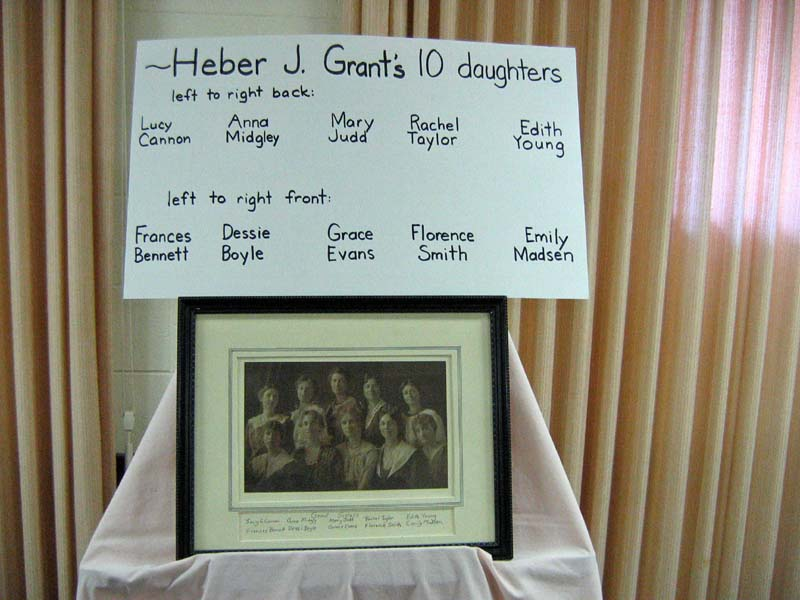Daughters of Heber J. Grant