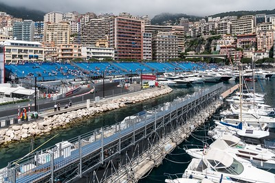 Monaco View - Monaco Historic GP 2018