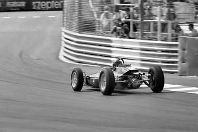 Monaco Classic 2016 Lotus 25 Andy Middlehurst BW