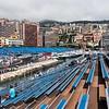 Stand N looking across to K - Monaco Historic GP 2018