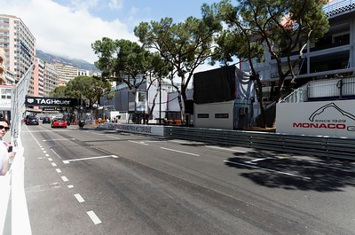 Start Finish Grid - Monaco 2016