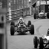 Past the Swimming Pool - bw Monaco Historic GP 2018