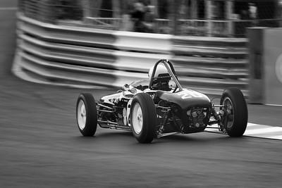 Monaco Classic 2016 Lotus 18 Phil Keen BW
