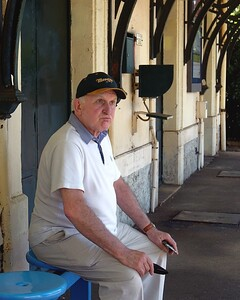 Monaco Classic View 2016 Tourist Sits at the Station
