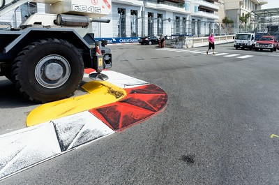 The Chicane kerb - Monaco 2016