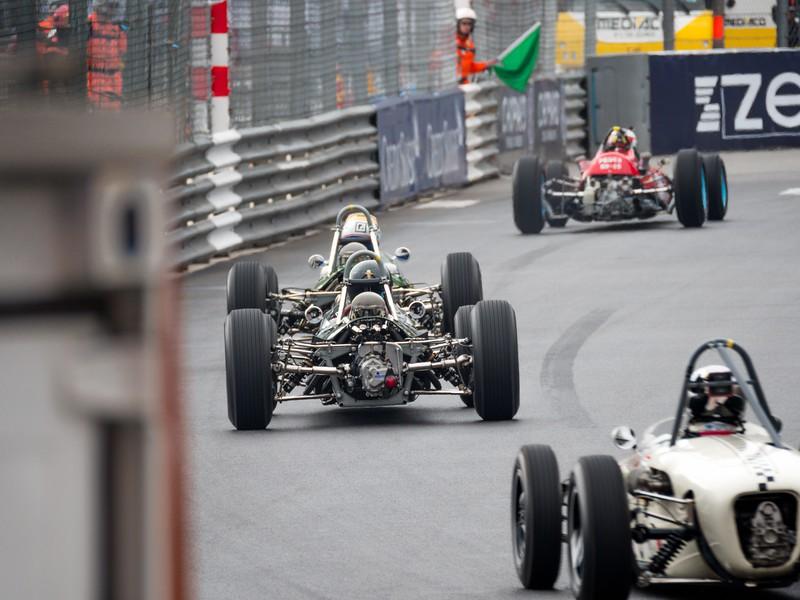 Past the Swimming Pool - Monaco Historic GP 2018