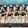 John P. Cleary | The Herald Bulletin<br /> The 4-Her's enjoyed the midway rides when they opened Monday afternoon at the Madison County 4-H Fair.