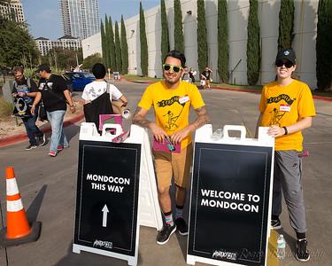 Super Volunteers greet you at MondoCon 4 Nov 4-5/2017