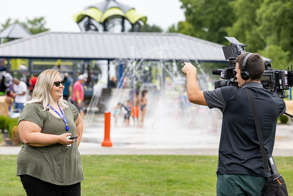 Monsoon Madness event at Roy Holland Memorial Park in Fishers, Indiana on July 31, 2021. Photography by Tony Vasquez.