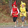 Ketchup and Mustard on the final hill