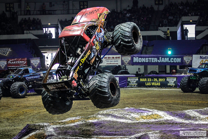 Monster Jam Hampton VA 1-21-17 © Annette Holloway