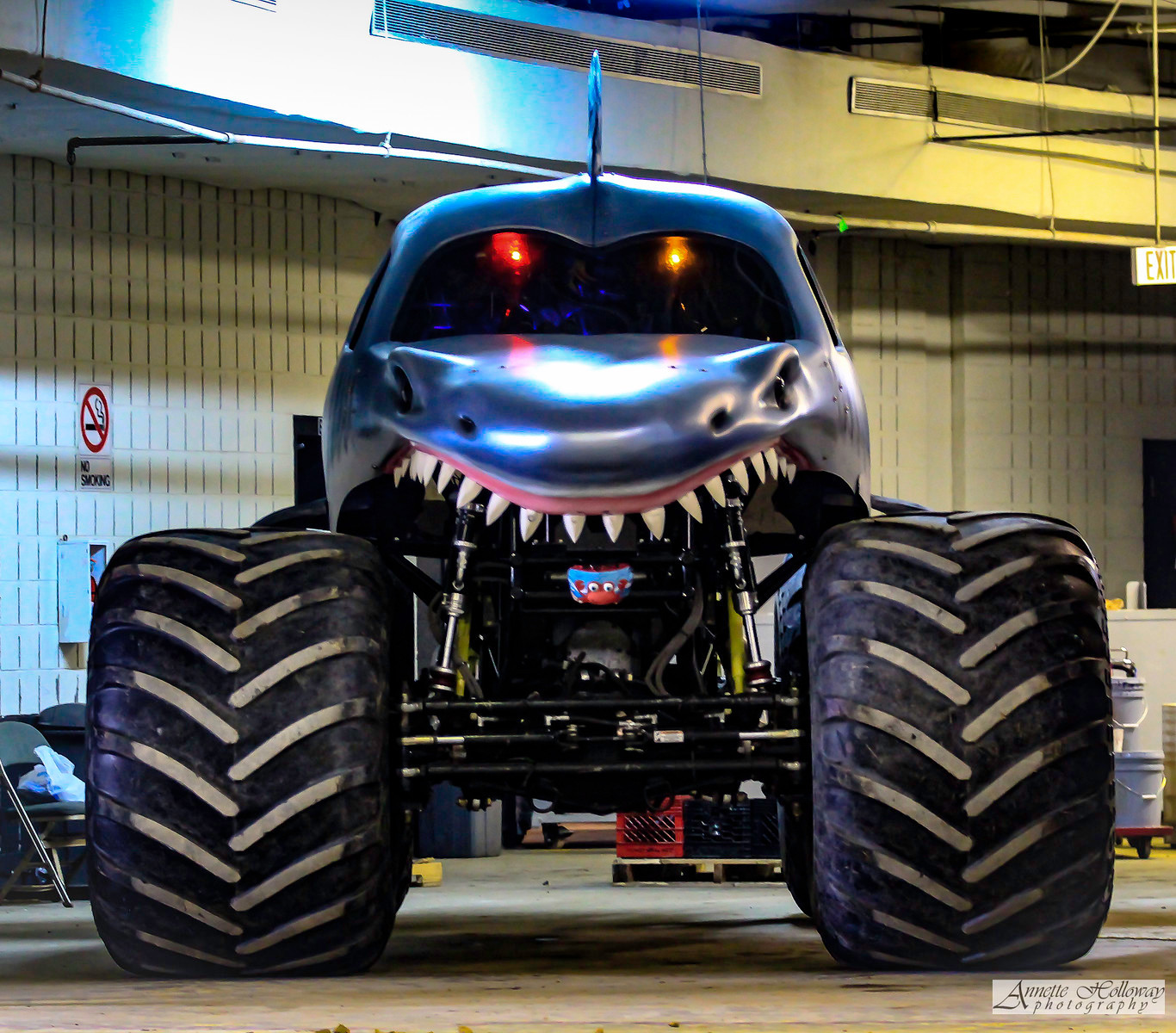 Monster Jam Hampton VA 1-21-17 © Annette Holloway