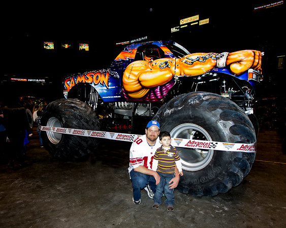 Monster Jam & Pit Party at the Meadowlands Feb. 5, 2011