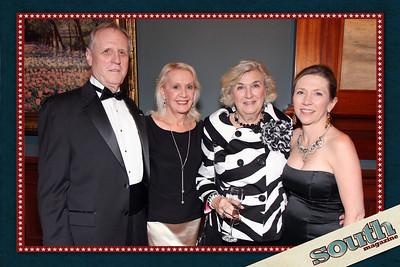 Mark Kay & Bob Bristol, Kathy Levitt, Lisa Grove (Director of The Telfair)