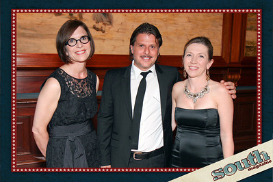 Linda Heasley (The Limited, CEO), Nicholas Frechette (The Limited, GMM), Lisa Grove (Director of The Telfair)