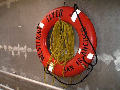 Life saver. Or, as some hoity-toity water-going-type boaty people might call it, a life preserver. (This fascinating description provided to you at no extra charge.)