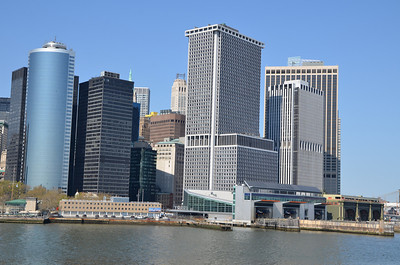 On the Staten Island ferry.