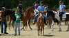 Riders and handlers take part in a Parade of Horse Breeds during the Montgomery County 4-H Fair in Skippack Township on Saturday August 9,2014. Photo by Mark C Psoras