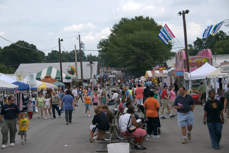 My family attended the last day (August 19, 2006) of Montgomery County, Md.'s annual agricultural fair.