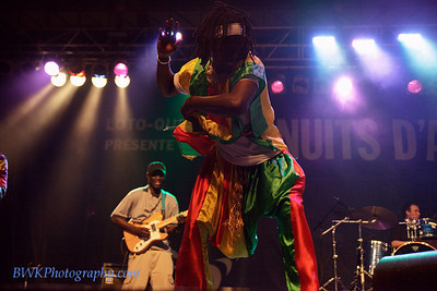 Lamine Toure & Group Saloum at the Montreal 2010 Nuits d'Afrique 23
