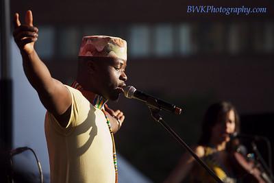 Jeff Kawanda at the Montreal 2010 Nuits d'Afrique 3