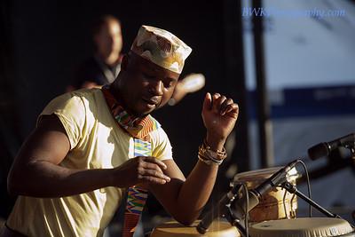 Jeff Kawanda at the Montreal 2010 Nuits d'Afrique 5