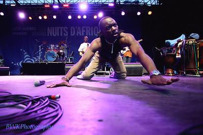 Koundouwaka at the Montreal 2010 Nuits d'Afrique 7