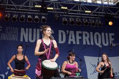 Maloukai at the Montreal 2010 Nuits d'Afrique 2