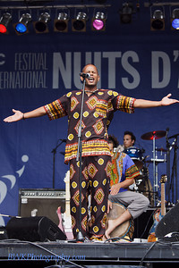 Maya at the Montreal 2010 Nuits d'Afrique 1