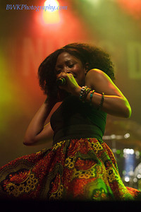 Nomfusi & the Lucky Charms at the Montreal 2010 Nuits d'Afrique 15