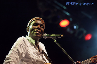 Olivier Mtukudzi at the Montreal 2010 Nuits d'Afrique 8