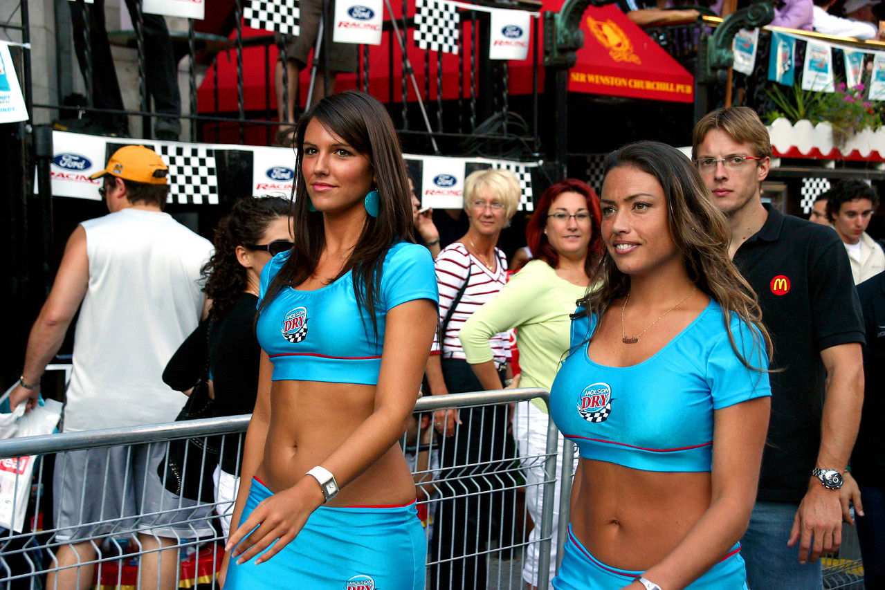Heading to the opening ceremony (Ford Racing Festival 2005)